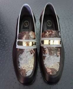 zanni-italian-leather-shoes-venezia-brown-fabric-paillettes-loafer