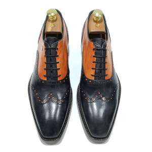 zanni-men-shoes-leather-shoes-handmade-shoes-luxury-shoes-riccione-black-orange